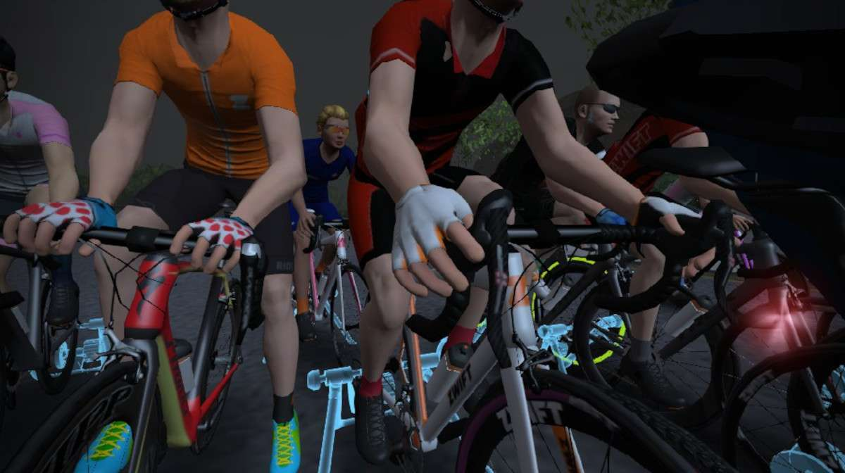 zwift levels and drops